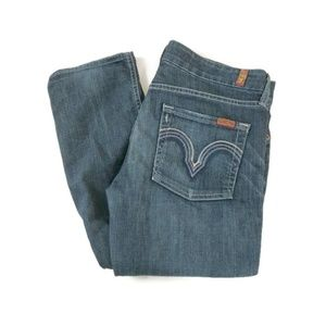 7 For All Mankind Jeans Kate Distressed